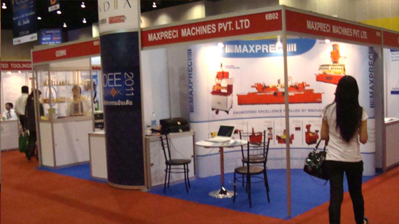 EXHIBITION PARTICIPATED IN BANGKOK 2011